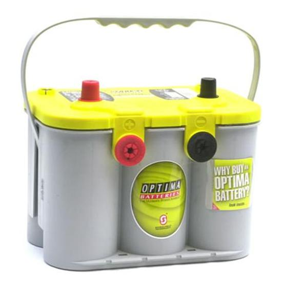 Optima Batteries D34 78 950 Deep Cycle Yellow Top Battery 870 Ca