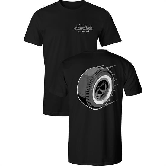 7fe9f51a Snookys Vintage Drag Slick T-Shirt. Adult Age Group, Male Gender, Black