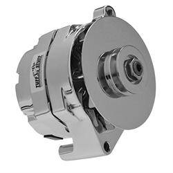 Ford Mount One Wire Alternator, Chrome