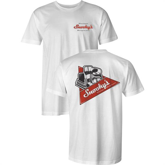 bb7a1407 Snookys Vintage Front Engine Dragster T-Shirt. Adult Age Group, Male  Gender, White