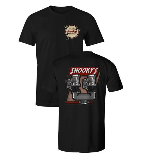 Snookys Vintage Dual Carbs T-Shirt