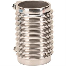 OTB Gear 6831 Finned Aluminum Coil Mount, Polished