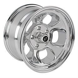 Team III Wheels ET Five Window Wheel-Pol-15x8-5 on 4.75-4 In. Backspce