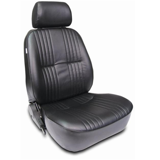 procar pro 90 series black vinyl bucket seats. Black Bedroom Furniture Sets. Home Design Ideas