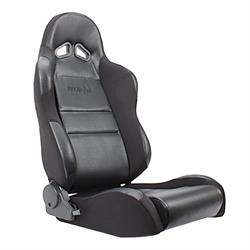 Procar Sportsman 1605 Series Black Vinyl Bucket Seats