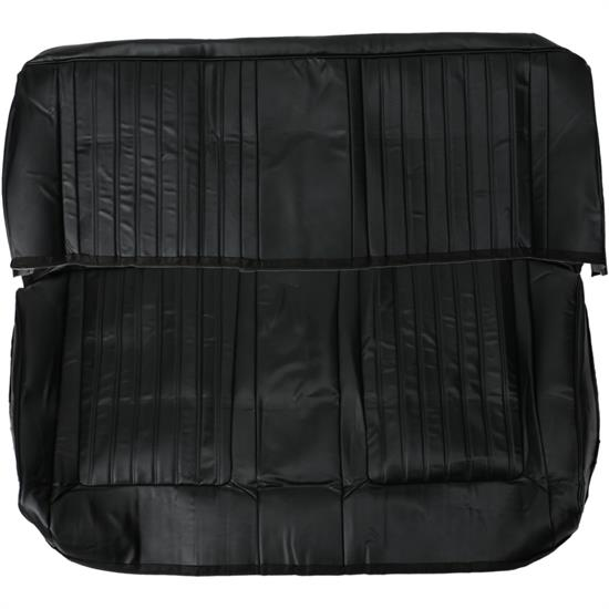 Procar 80-9210-51 Black Vinyl Rear Seat Cover, 1966-67 Nova
