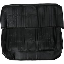 Procar 80-9210-551 Black Vinyl Rear Seat Cover, 1966-67 Nova