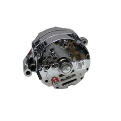 Tuff Stuff Silver Bullet One Wire Alternator, 100 AMP Rating