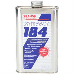 Valco 710XX265 184 Solvent Cleaner/Degreaser, 16 oz