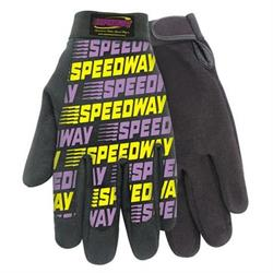 Speedway Mechanics Style Gloves - Size Medium