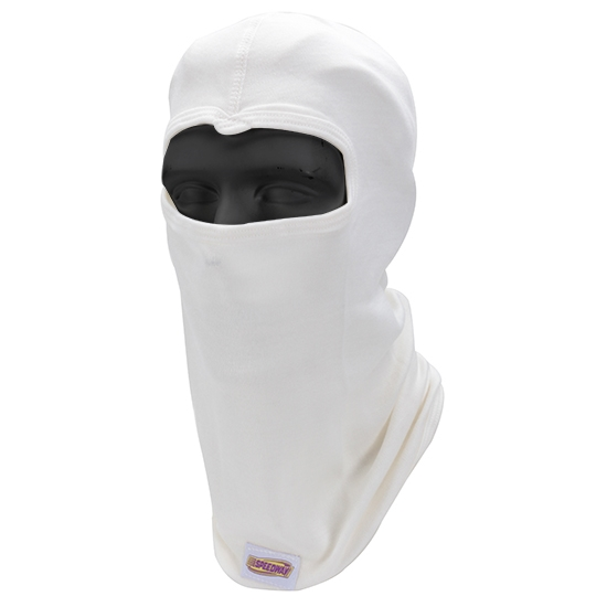 Speedway Single Layer Nomex Hood, White