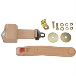 Push Button Retractable Lap Belt
