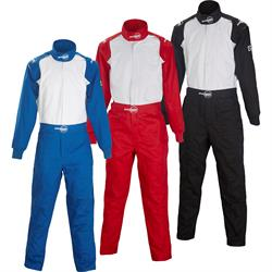 Speedway One Piece Fire Retardant Cotton Racing Suit, Single Layer