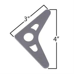 Large Roll Bar Gussets with Holes - Pack of 5