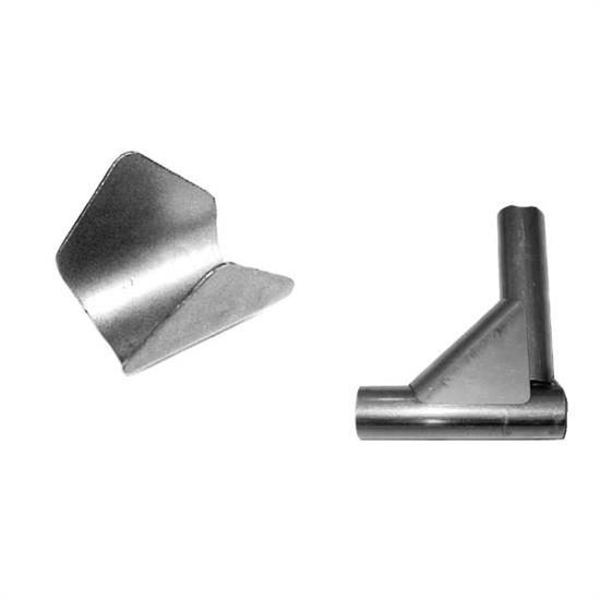 Roll Cage Saddle Weld Gussets for 1-1/4 Inch Tube, .060 Steel, 10