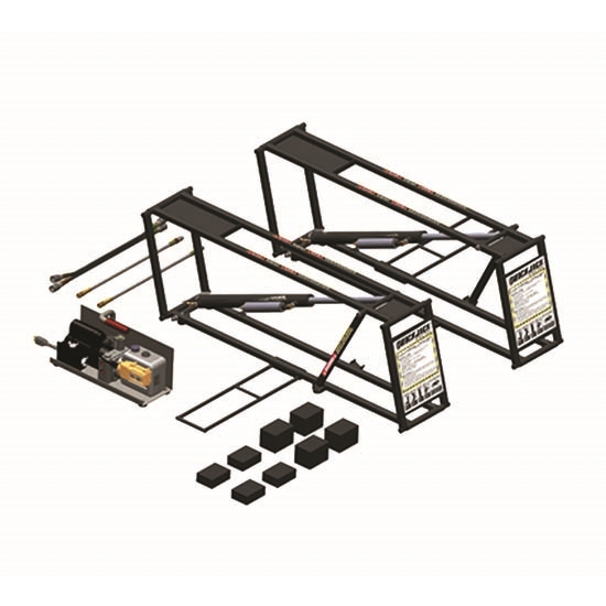 Ranger Products BL-500 QuickJack 5000 Lb Car Jack Support System