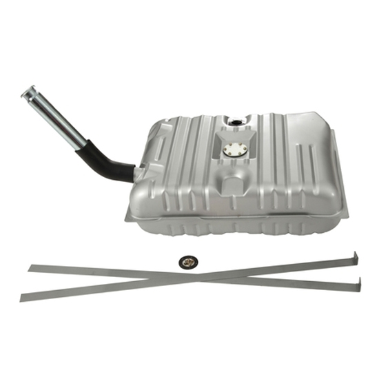 Tanks Inc. 53-CGX Fuel Tank Kit for 1953-1954 Chevy Car, Steel
