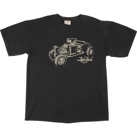 32 Street Rod Laid-Back Black T-Shirt