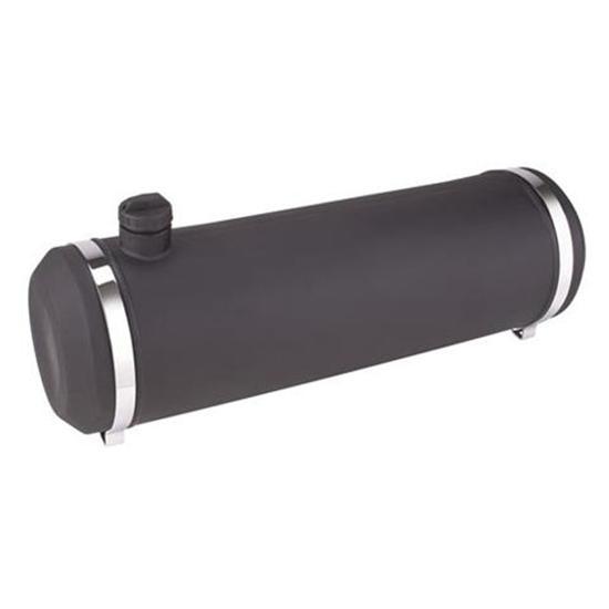 10X30 Center Fill Spun Aluminum Gas Tank With Remote Filler Neck And Sender