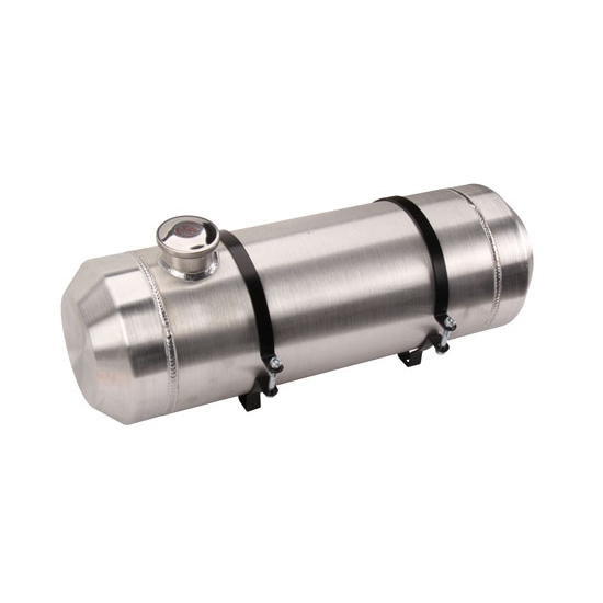 Spun Aluminum Fuel Tank 5 Gallon 8 X 24 Inch
