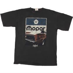 Cuda Grunge Black T-Shirt