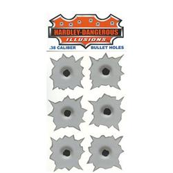 Bullet Hole Decals for Metal