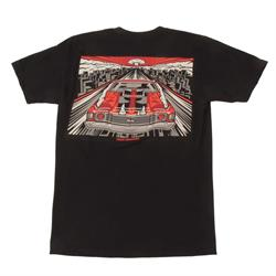 MAX GRUNDY Red Threat T-Shirt, Black