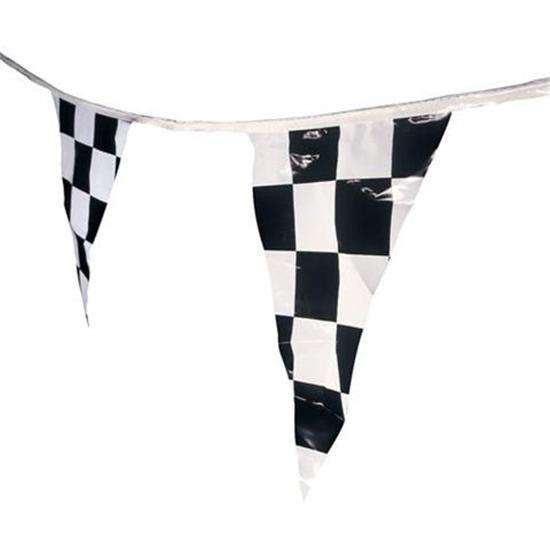 Checkered Flag Pennant, Triangular