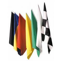 Speedway Single Race Track Flags, 36 x 36 Inch