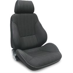 Procar 80-1000-31R Rally Canvas Seat, Passenger, Canvas