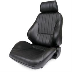 Procar 80-1000-51L-LEATHER Rally Seat, Driver, Leather