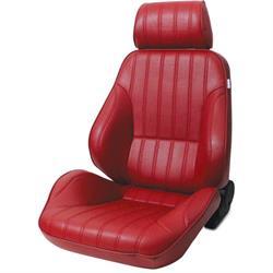 Procar 80-1000-58L Rally Seat, Driver, Vinyl