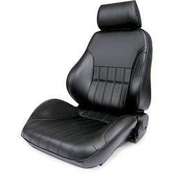 Procar 80-1000-51LS Rally Smoothback Seat, Driver, Vinyl