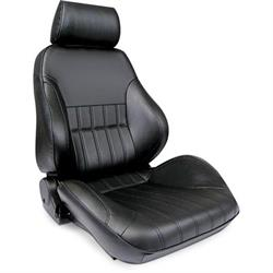 Procar 80-1000-51RS Rally Smoothback Seat, Passenger, Vinyl