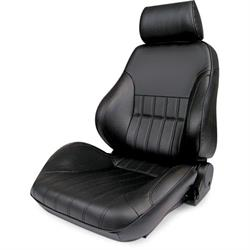 Procar 80-1000-51LS-LEATHER Rally Smoothback Seat, Driver, Leather