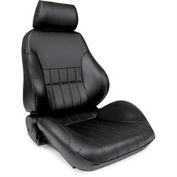 Procar 80-1000-51RS-LEATHER Rally Smoothback Seat, Passenger, Leather