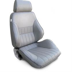 Procar 80-1000-52RS Rally Smoothback Seat, Passenger, Vinyl