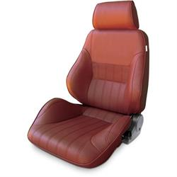 Procar 80-1000-56LS Rally Smoothback Seat, Driver, Vinyl