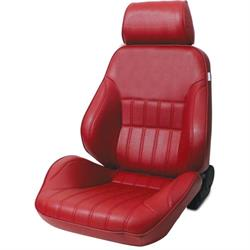 Procar 80-1000-58LS Rally Smoothback Seat, Driver, Vinyl