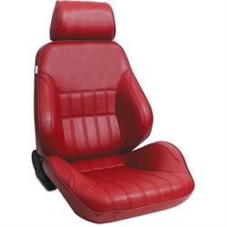 Procar 80-1000-58RS Rally Smoothback Seat, Passenger, Vinyl