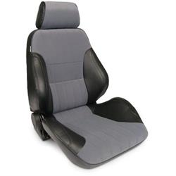 Procar 80-1000-73RS Rally Smoothback Seat, Passenger, Vinyl/Velour