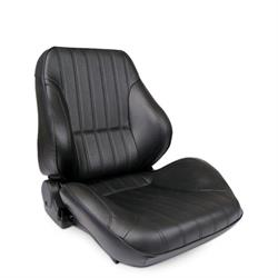 Procar 80-1050-51R-LEATHER Rally Lowback Seat, Passenger, Leather