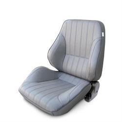 Procar 80-1050-52L Rally Lowback Seat, Driver, Vinyl