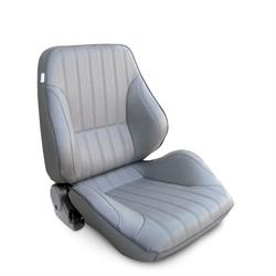 Procar 80-1050-52R Rally Lowback Seat, Passenger, Vinyl