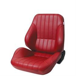 Procar 80-1050-58L Rally Lowback Seat, Driver, Vinyl