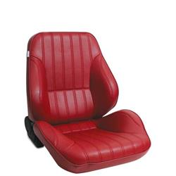 Procar 80-1050-58R Rally Lowback Seat, Passenger, Vinyl