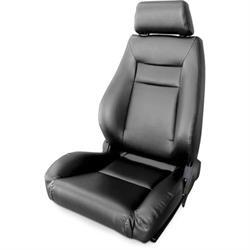 Procar 80-1100-51L Elite Seat, Driver, Vinyl