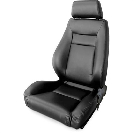 Procar 80-1100-51L-LEATHER Elite Seat, Driver, Leather