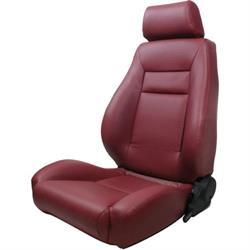 Procar 80-1100-56L Elite Seat, Driver, Vinyl
