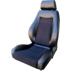 Procar 80-1100-71L Elite Seat, Driver, Vinyl/Velour